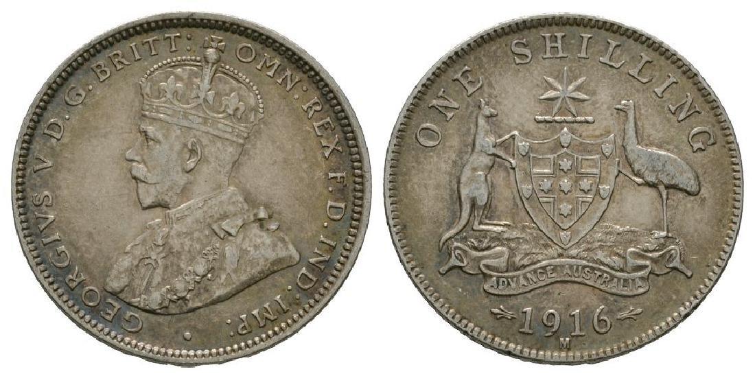 Australia - 1916 M - Shilling