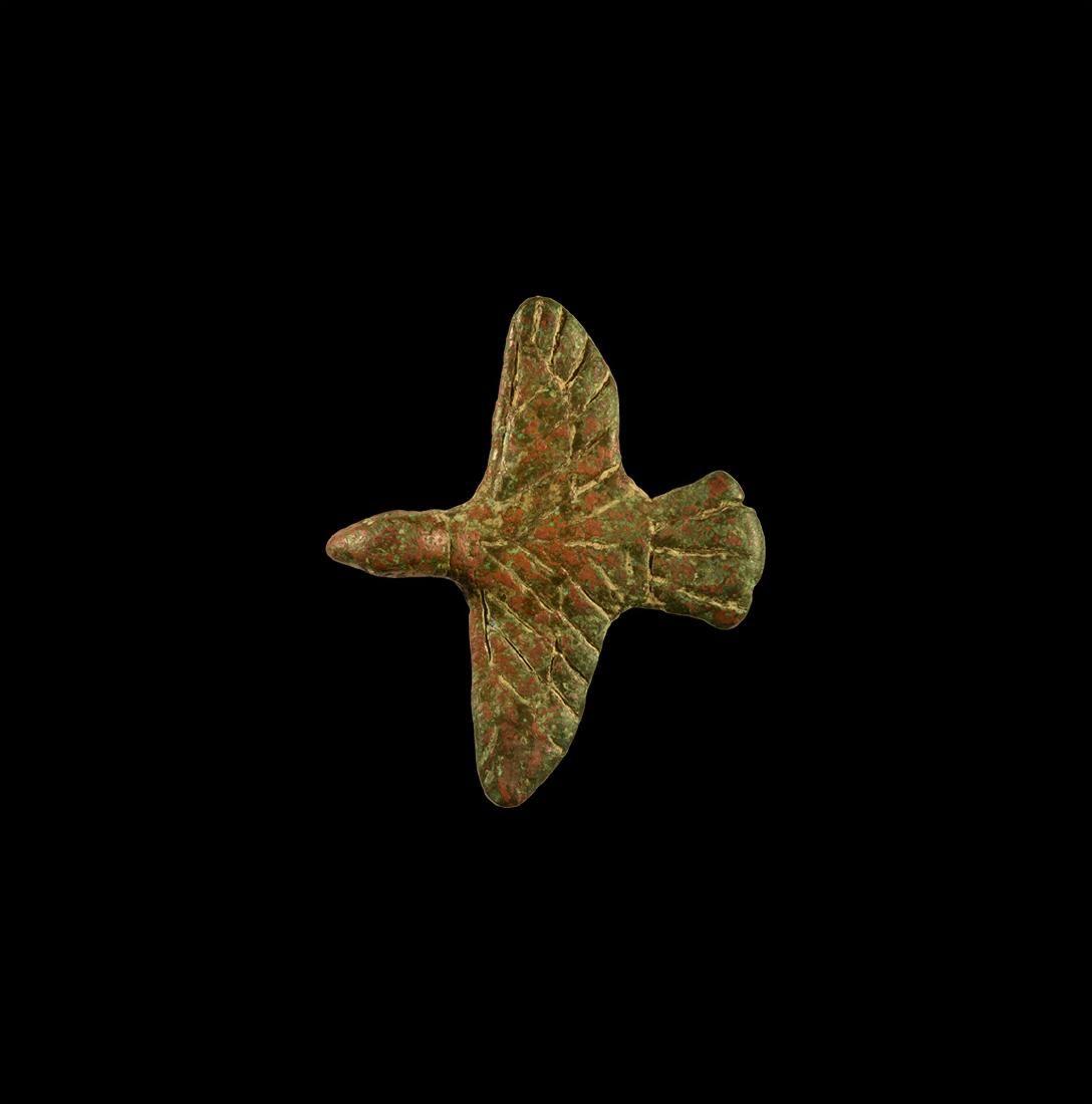 Roman Flying Eagle Amuletic Pendant