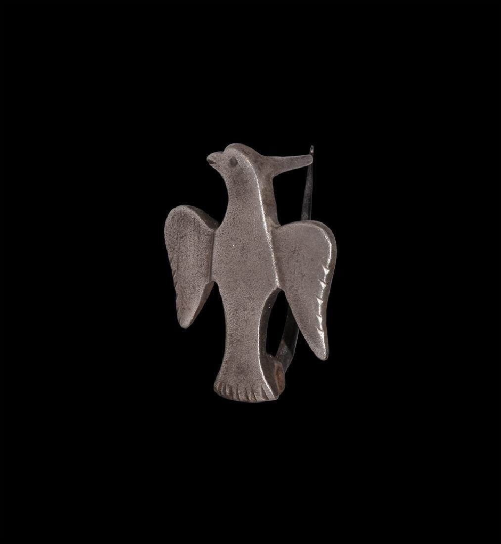 Roman Silver Eagle Legionary Brooch