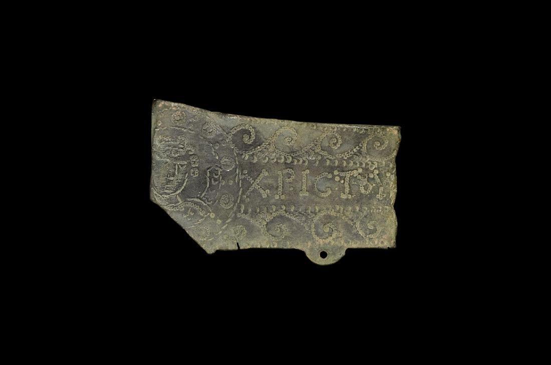Byzantine Processional Cross Fragment