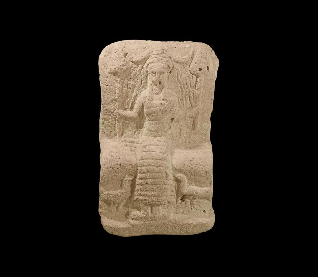 Western Asiatic Plaque with Goddess Nanshe