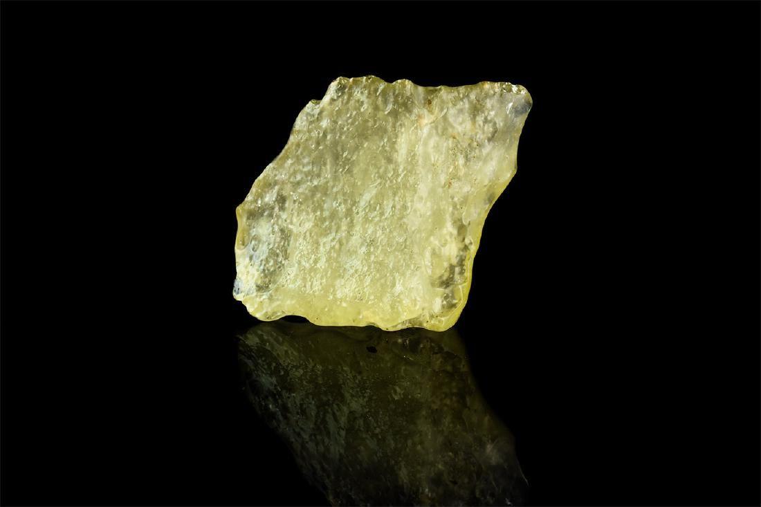 Libyan 'Meteorite Impact' Tektite Desert Glass