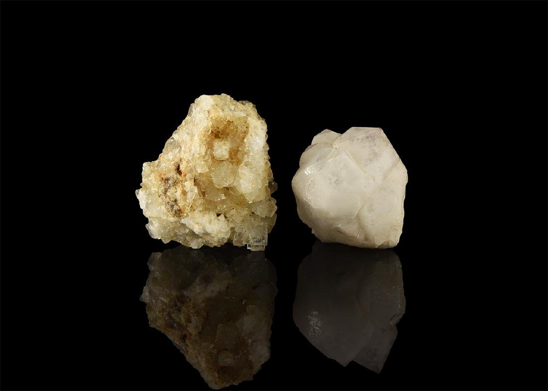 British Fluorite and Quartz Mineral Specimens