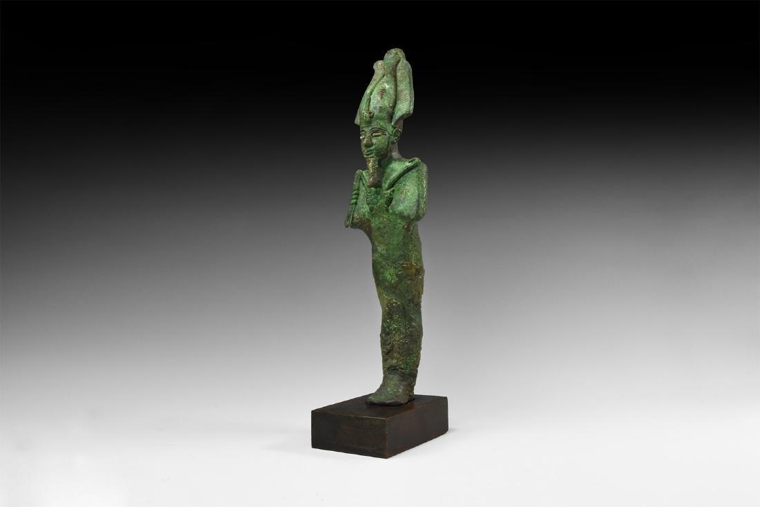 Large Egyptian Osiris Statuette