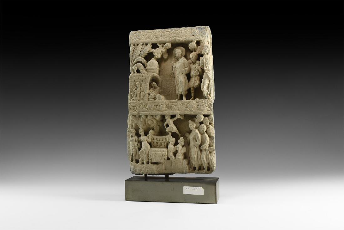 Gandharan Figural Frieze Section