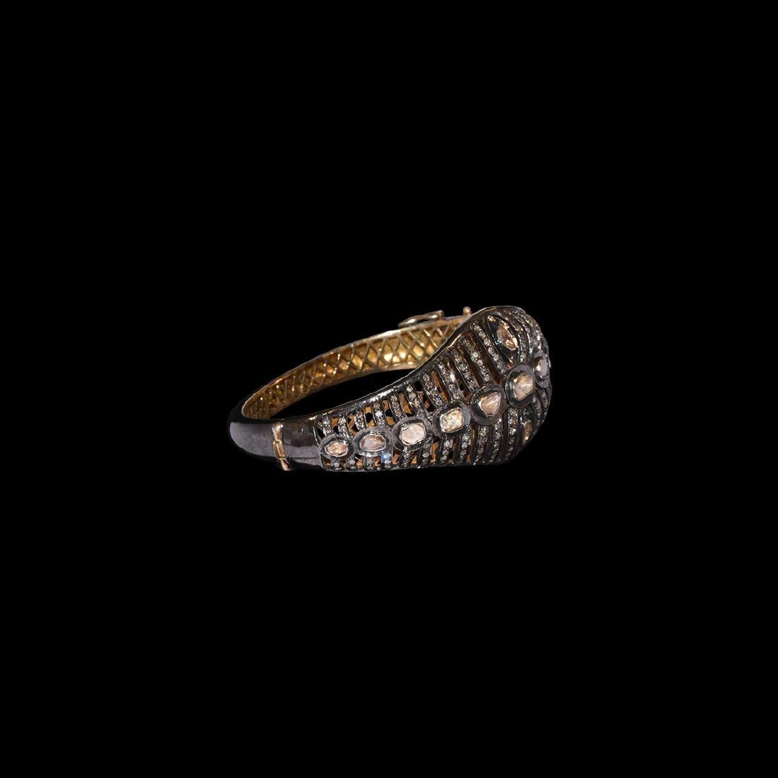 Georgian Silver and Diamond Bracelet