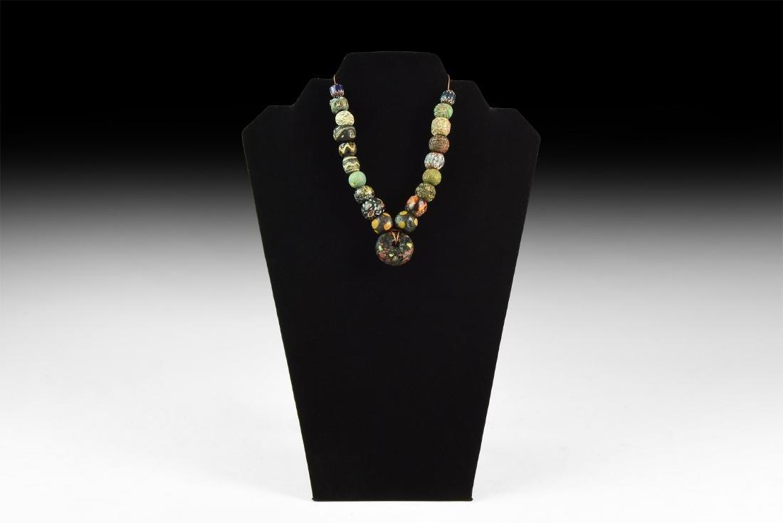 Mosaic Glass Bead Group