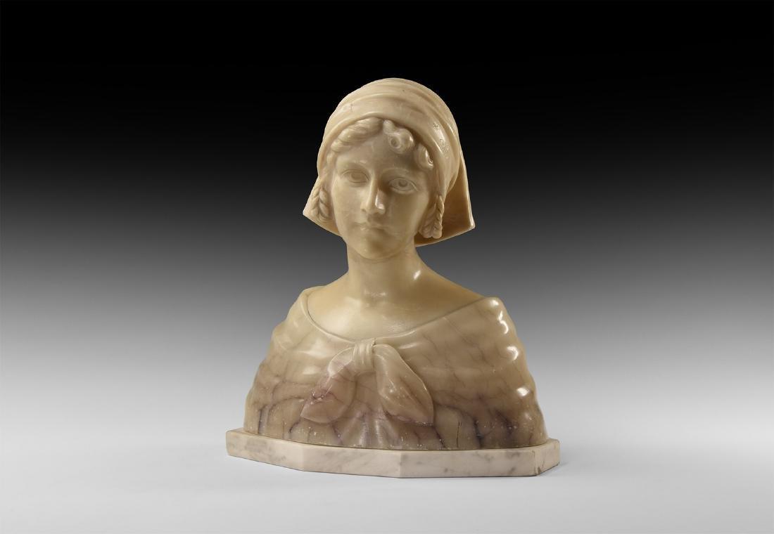 Florentine Bust of a Maiden