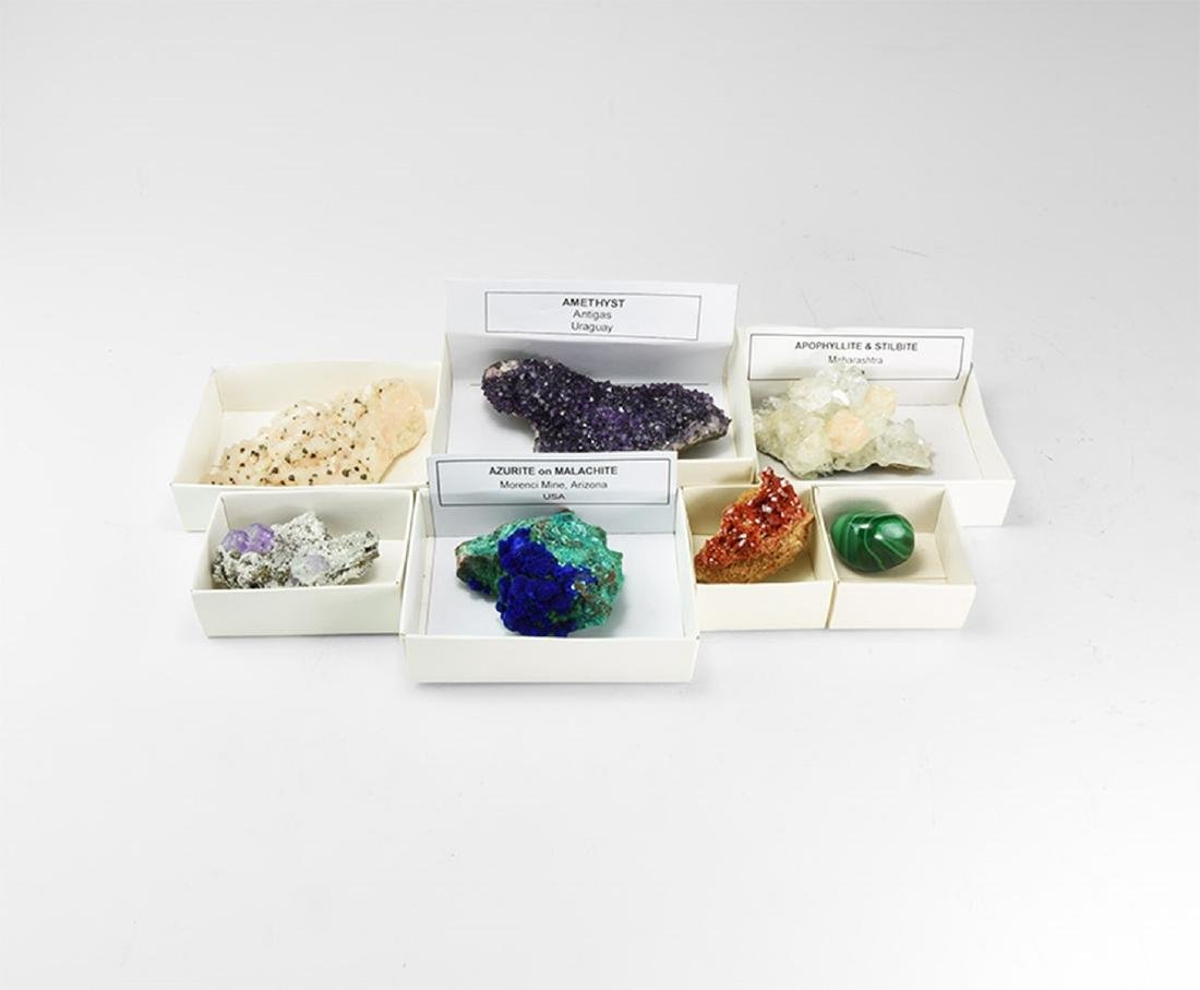 Mixed Mineral Specimen Collection