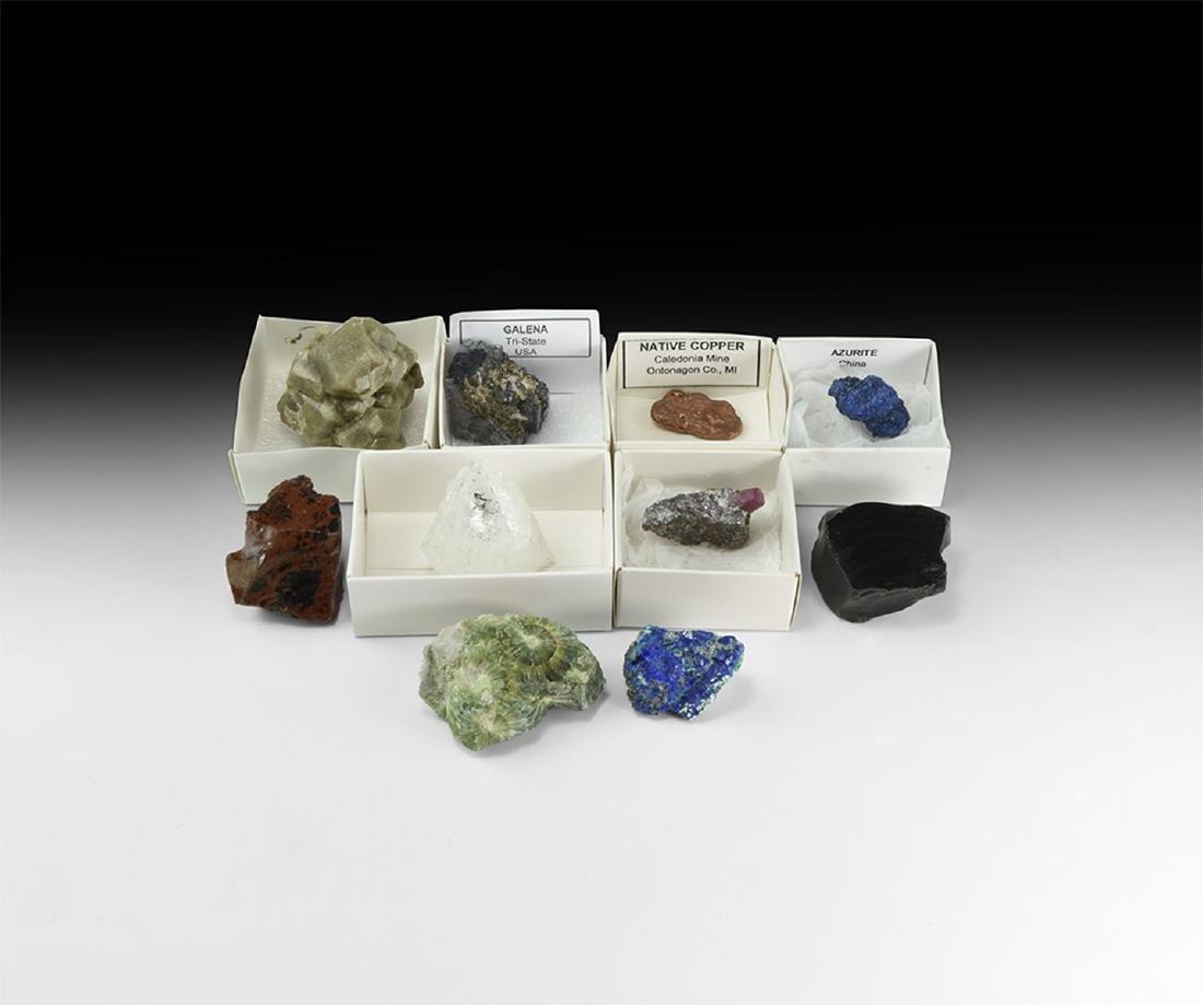 Crystal Mineral Specimen Group