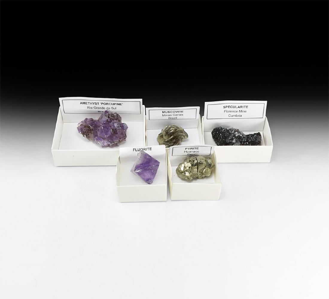 Crystal Mineral Specimen Collection