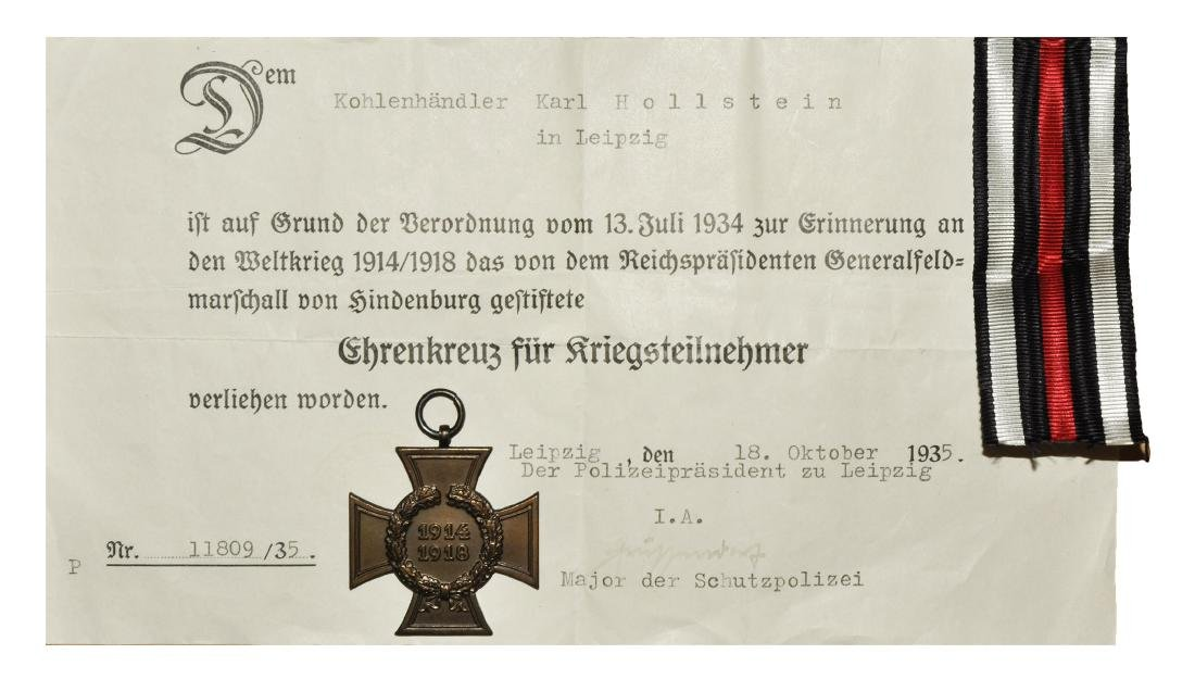 Germany - Civilian Honour Cross of the World War to