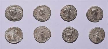 Ancient Roman Imperial Coins - Hadrian to Julia Domna -