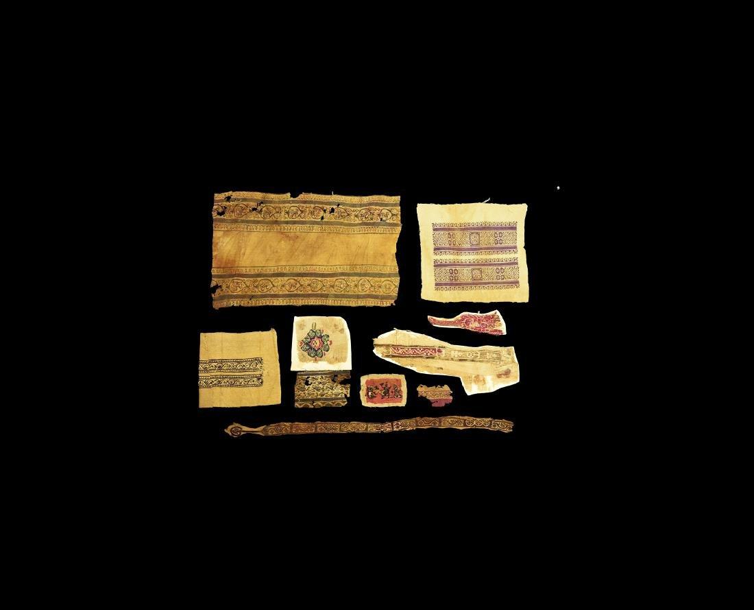 Coptic Textile Fragment Group