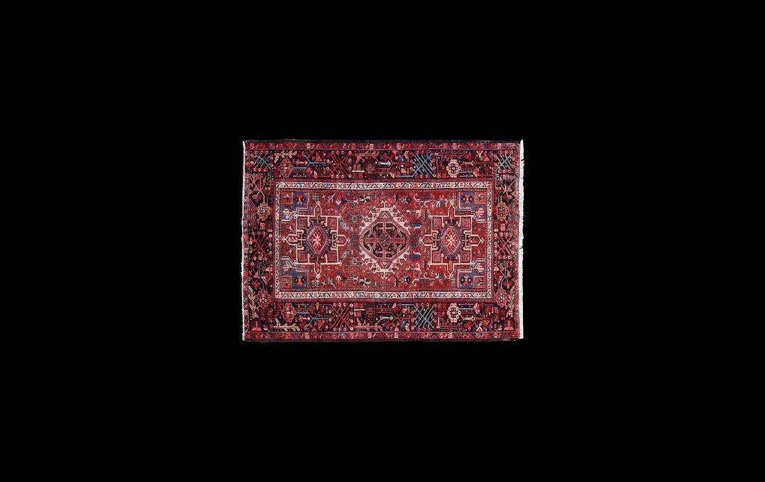 Heriz Gara Woven Persian Carpet