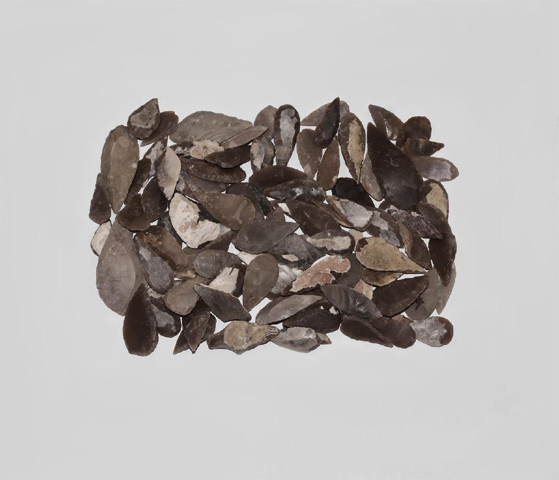 Neolithic Leaf-Shaped Arrowhead Collection