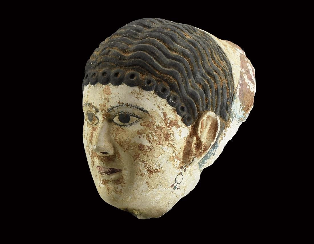 Egyptian Polychrome Face Mask