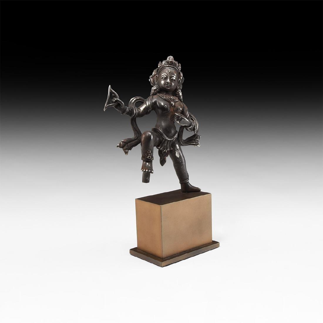 Indian Silver Shiva Statuette