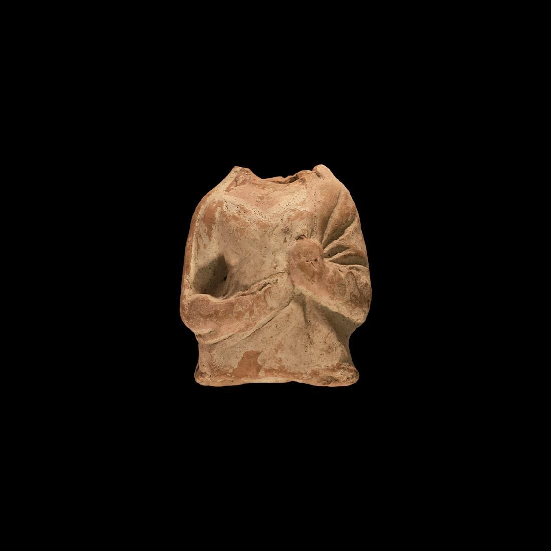 Greek Terracotta Torso
