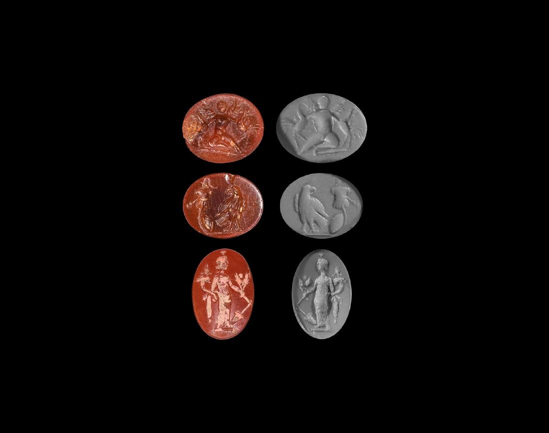 Roman Figural Gemstone Collection