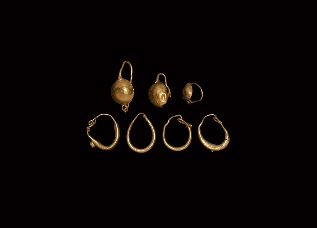 Roman Gold Earring Collection