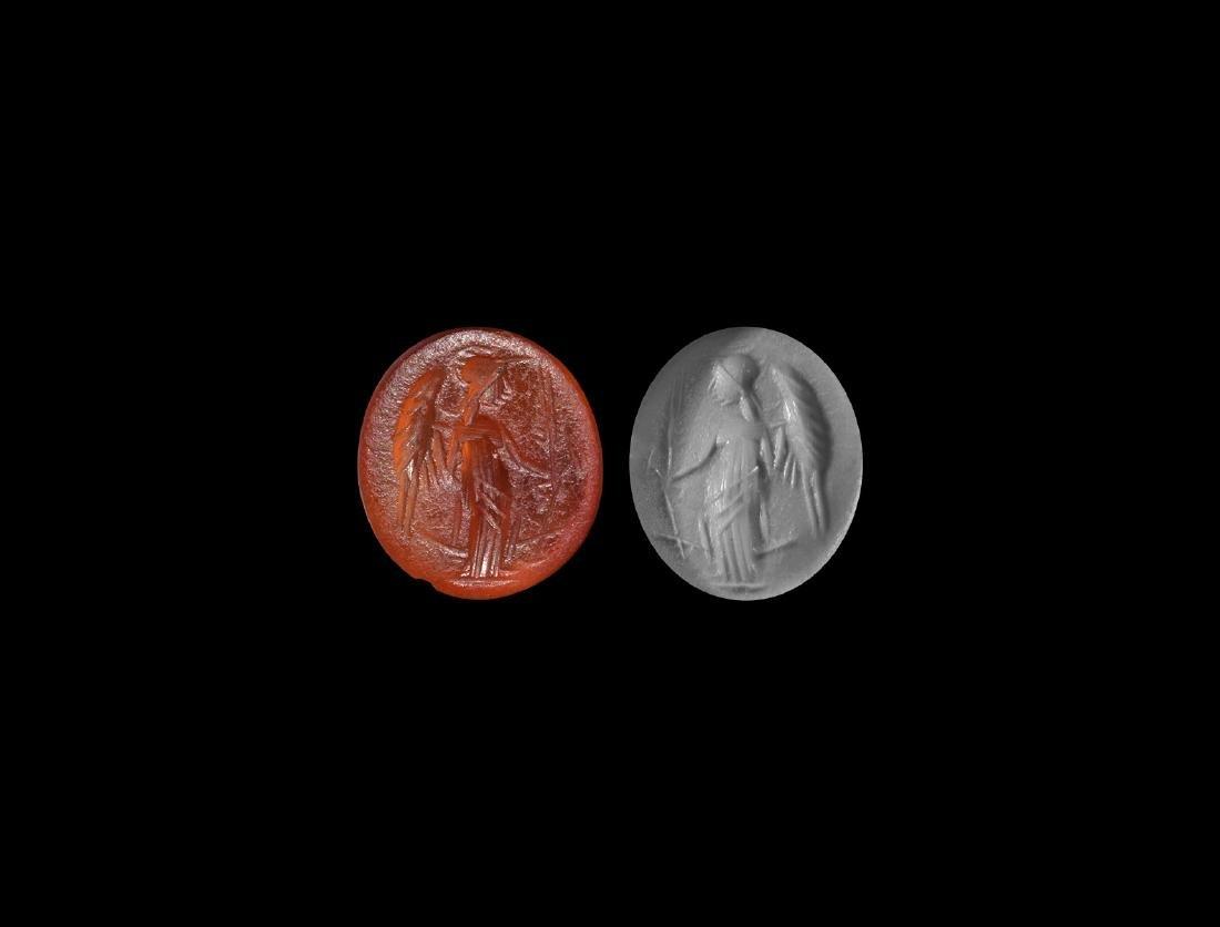 Roman Gemstone with Minerva