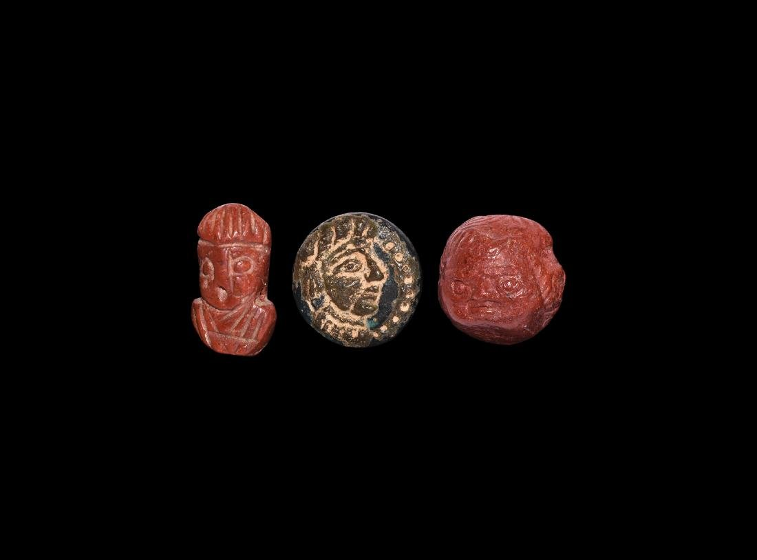 Western Asiatic Face Amulet Collection