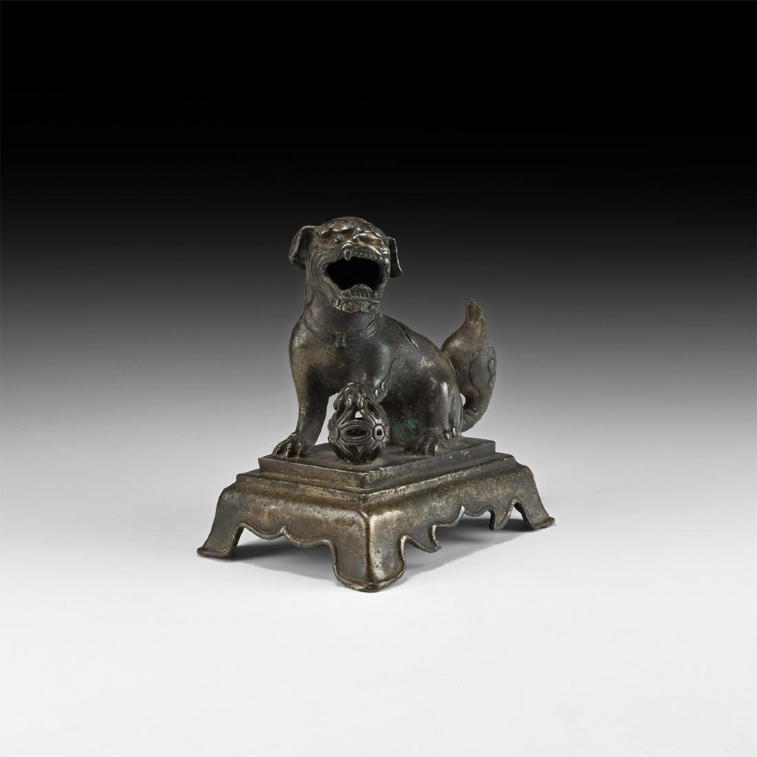 Chinese Qing Lion Statuette