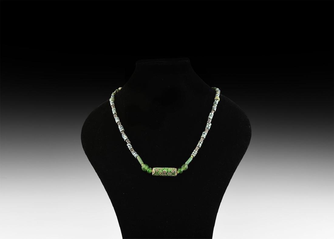 Islamic Glass Bead Necklace