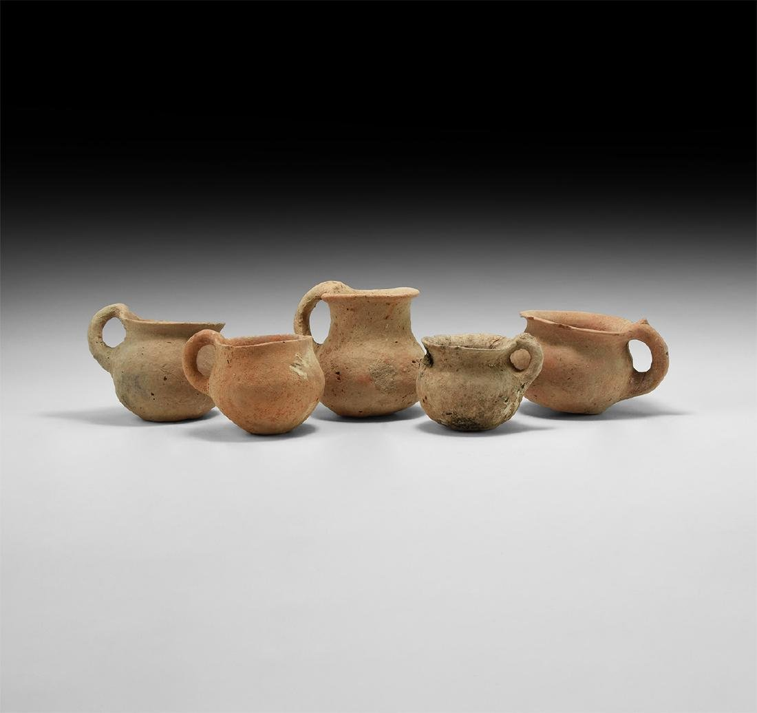 Bronze Age Holy Land Dipper Cup Collection