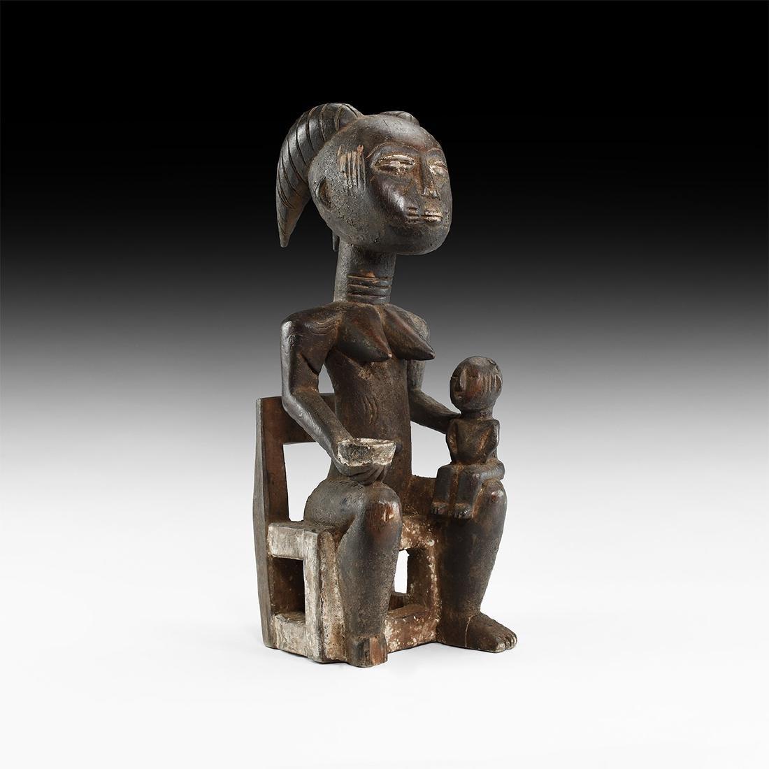 African Tribal Fertility Figure