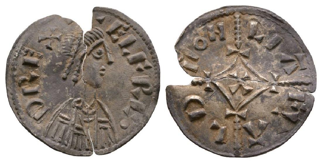 Alfred the Great - Liafwald - Cross-and-Lozenge Penny