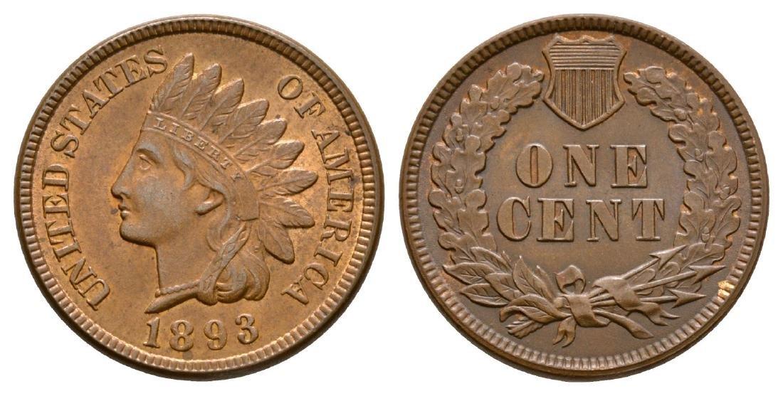 USA - 1893 - Indian Head Cent