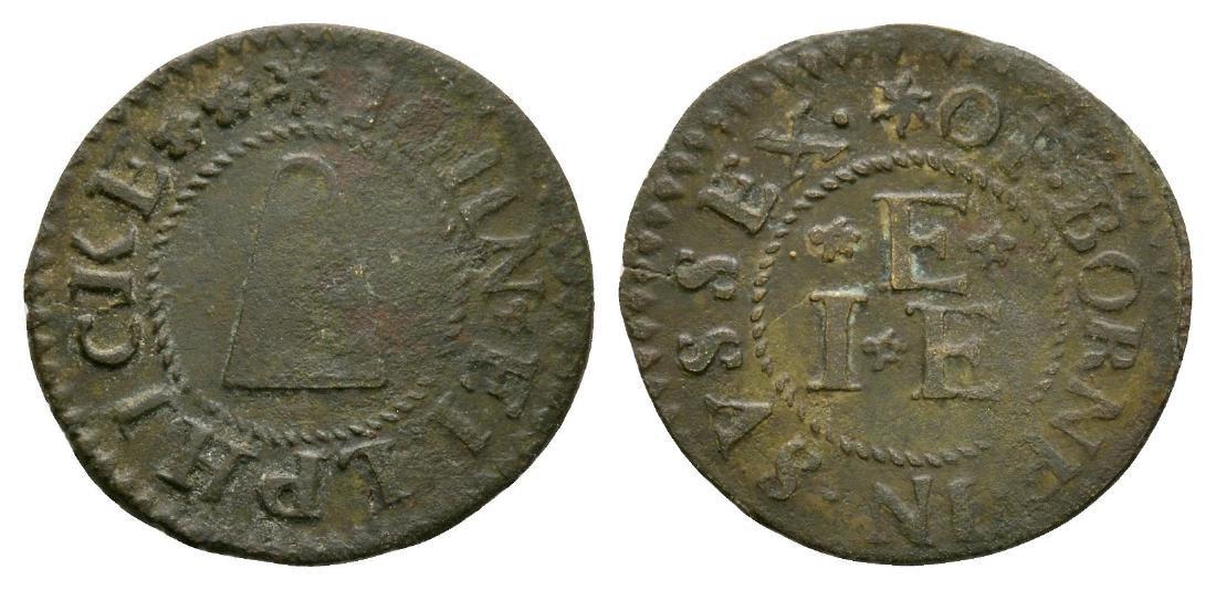 17th Century - Sussex / Ellphicke Token Farthing