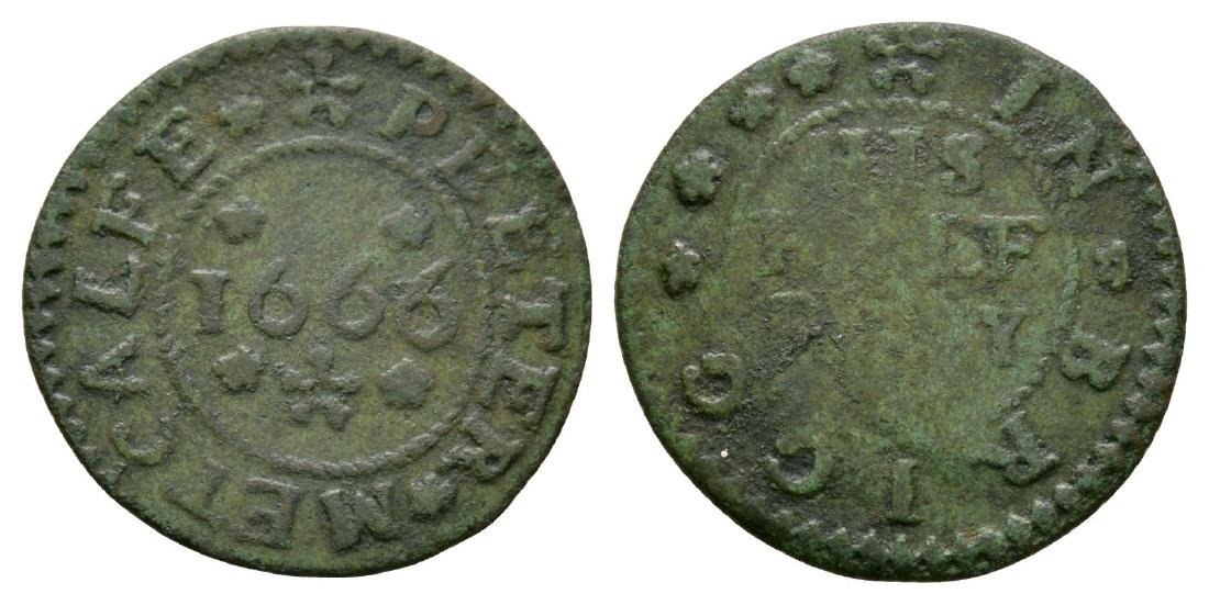 17th Century - Lincolnshire / Metcalfe - 1666 - Token