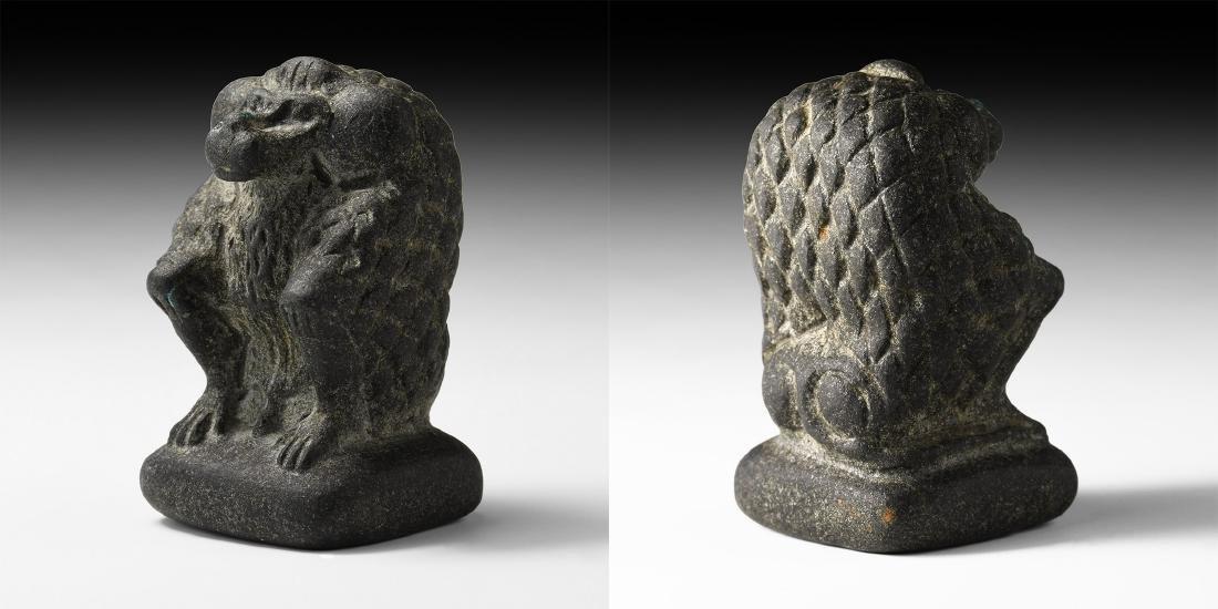 Egyptian Sacred Baboon Figure