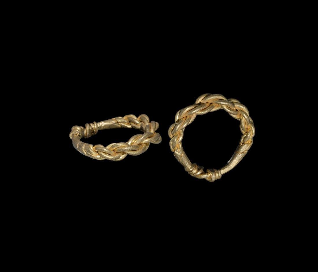 Viking Gold Multi-Stranded Ring
