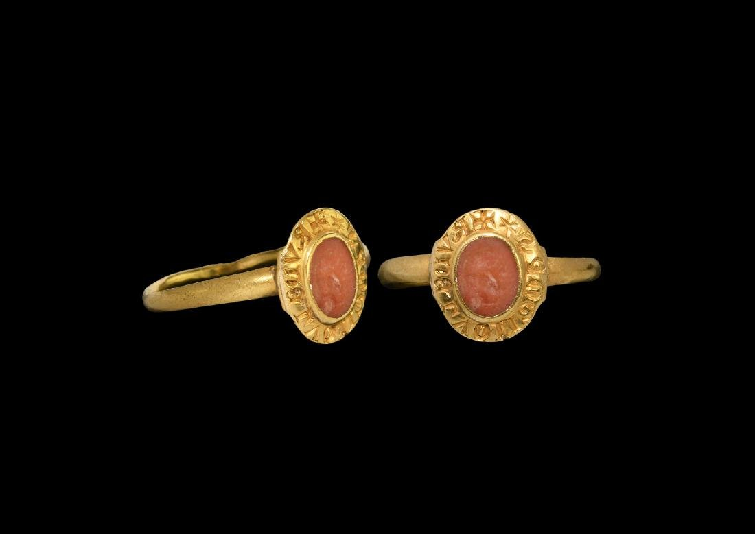 Crusader's Gold 'Geoffrey Rudel de Blaye' Ring