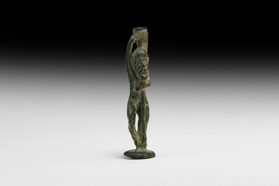 Roman Faunus Statuette