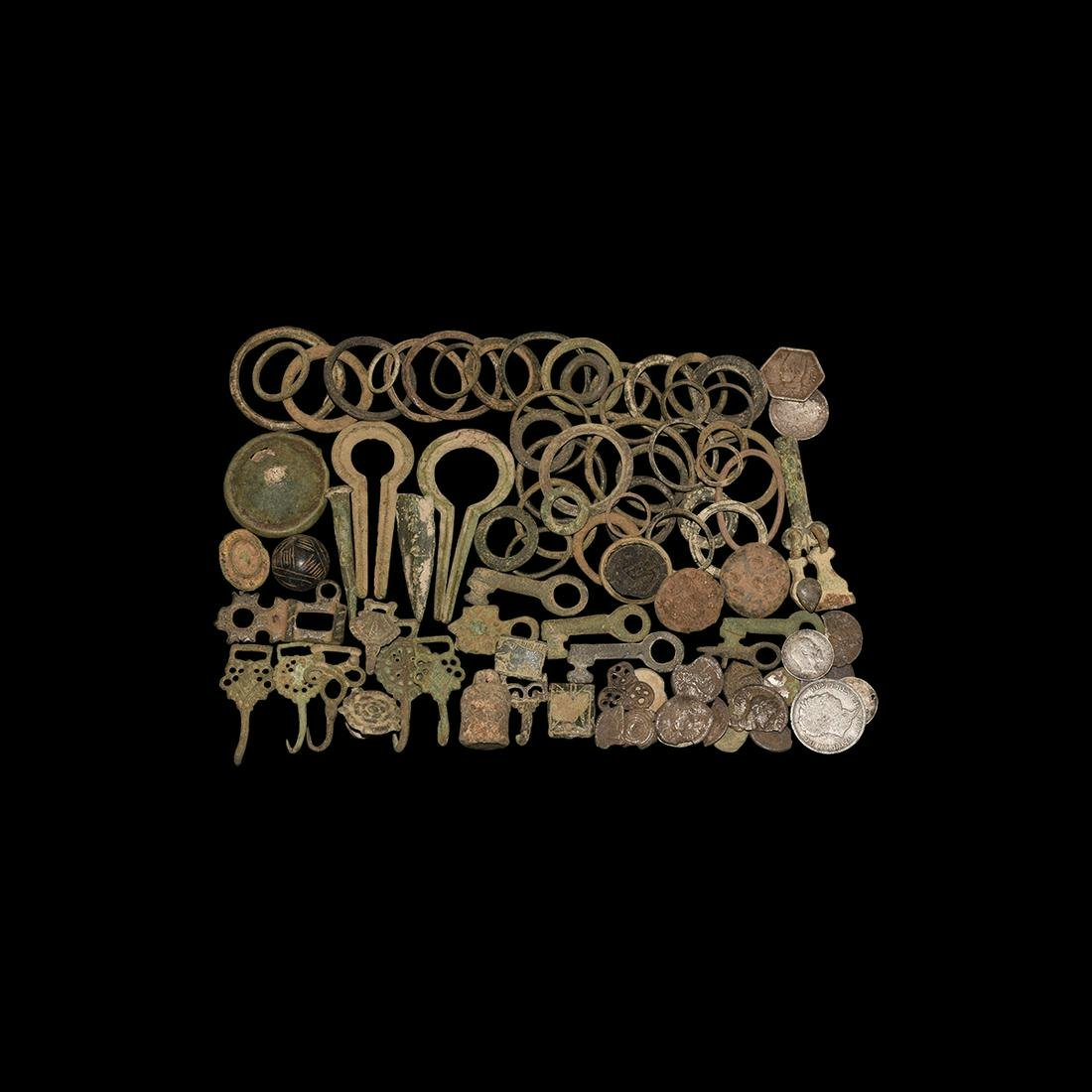 Roman to Post Medieval Artefact Collection