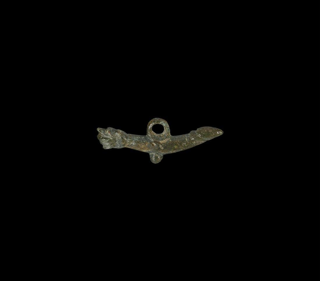 Roman Phallic and Mano Fica Pendant