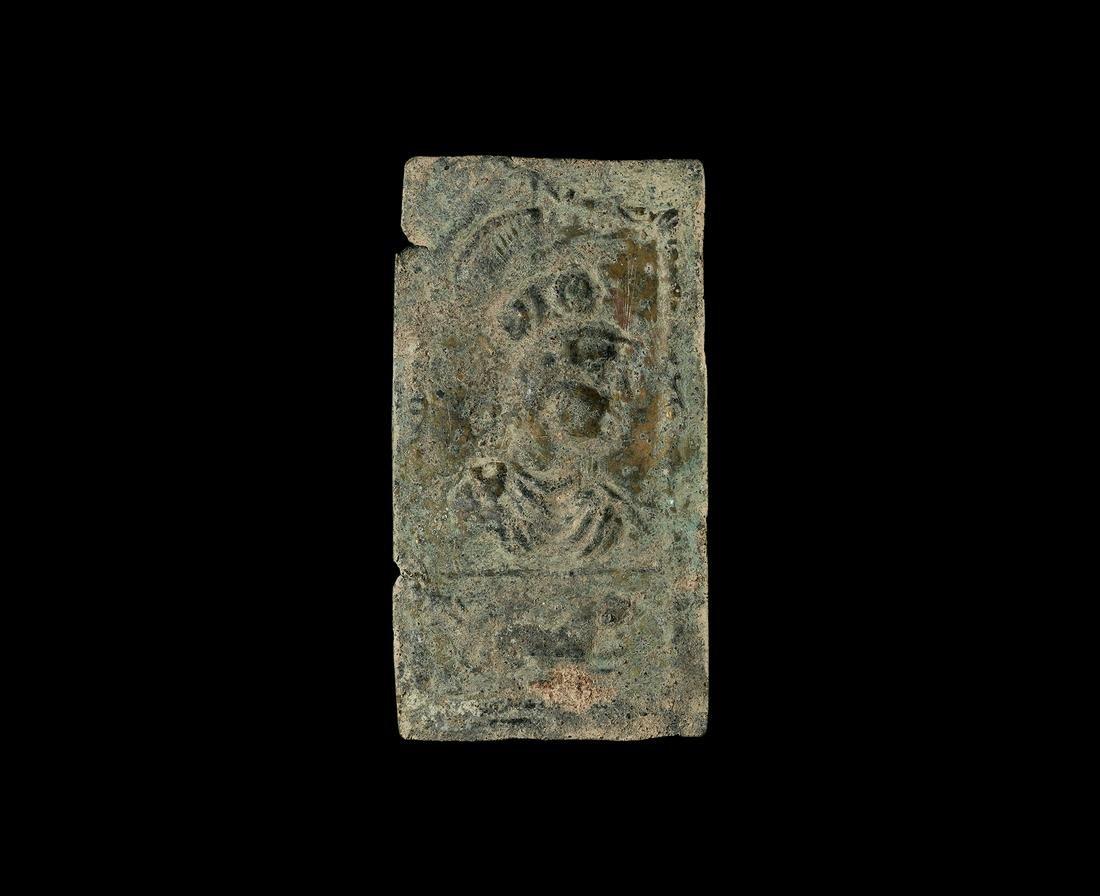 Roman Plaque with Minerva