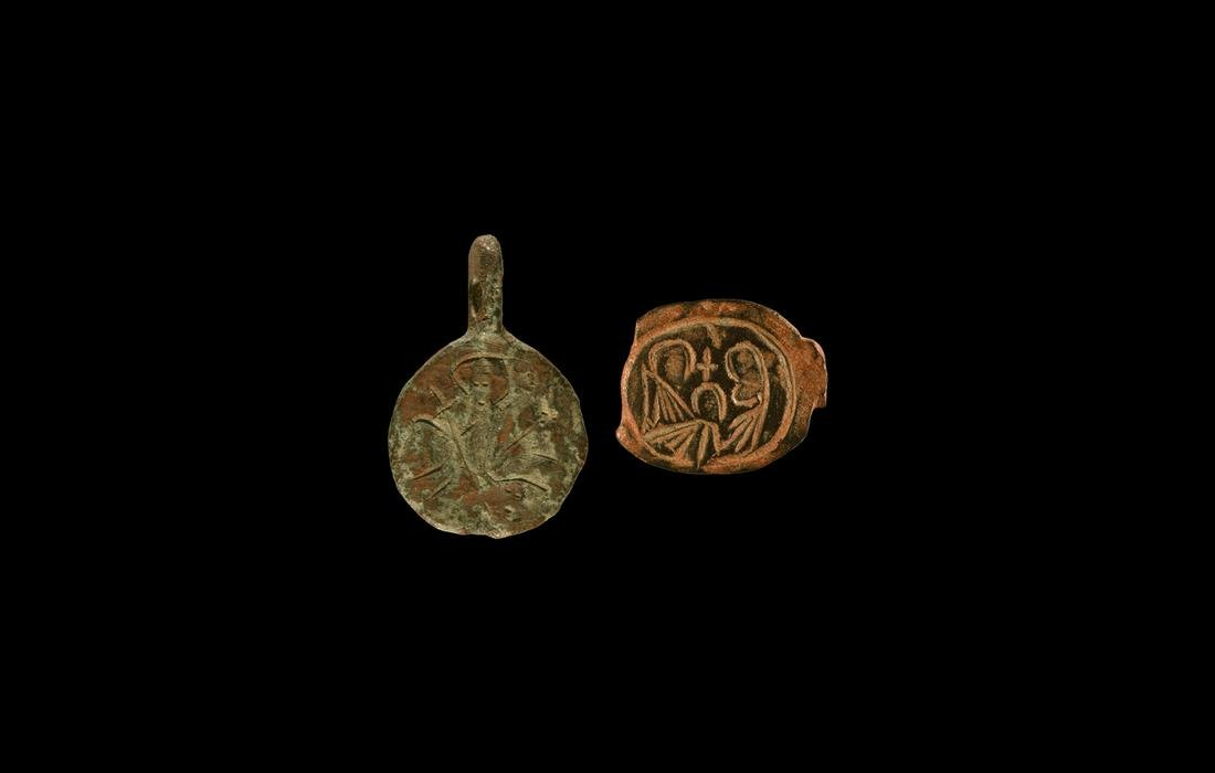 Byzantine Pendant and Bezel Group