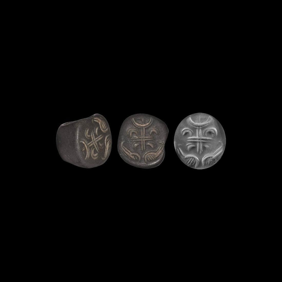 Western Asiatic Sassanian Stamp Seal