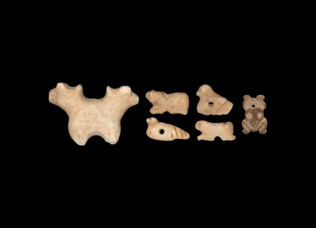 Western Asiatic Animal Amulet Group