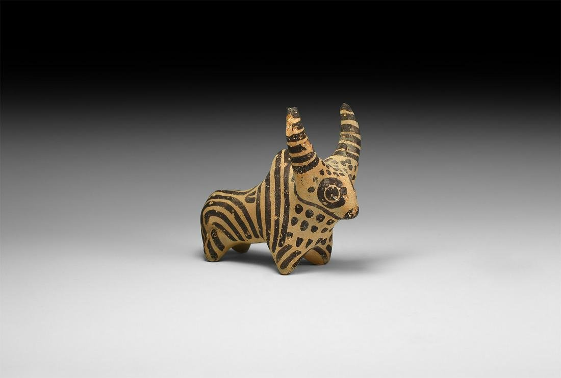 Indus Valley Zebu Figure