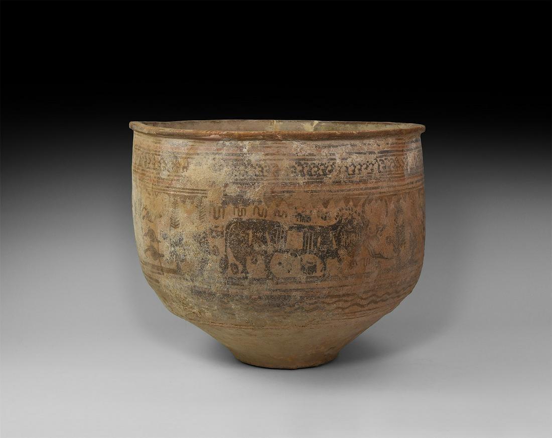 Indus Valley Decorated Vessel