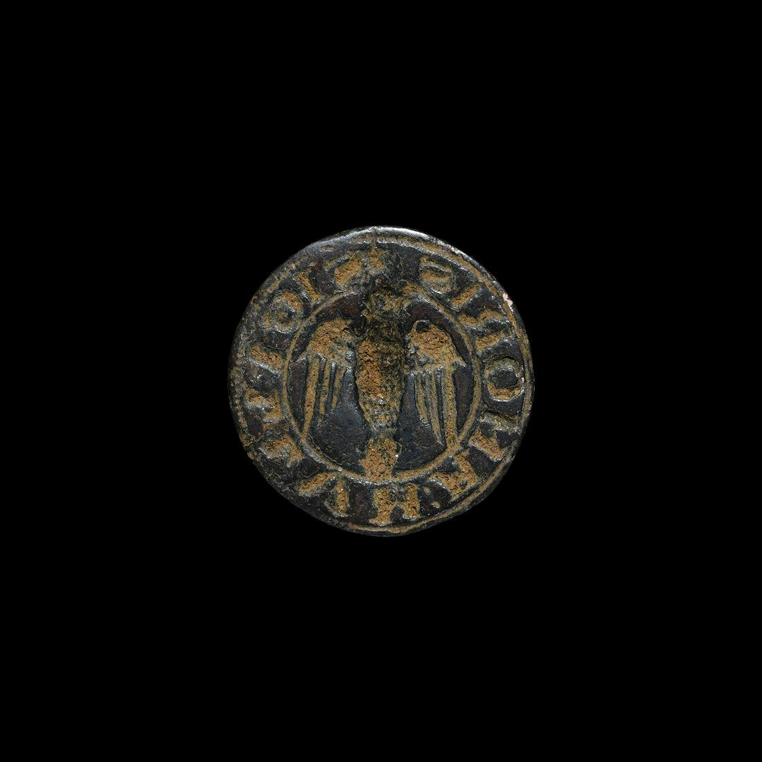 Medieval Seal Matrix with Eagle