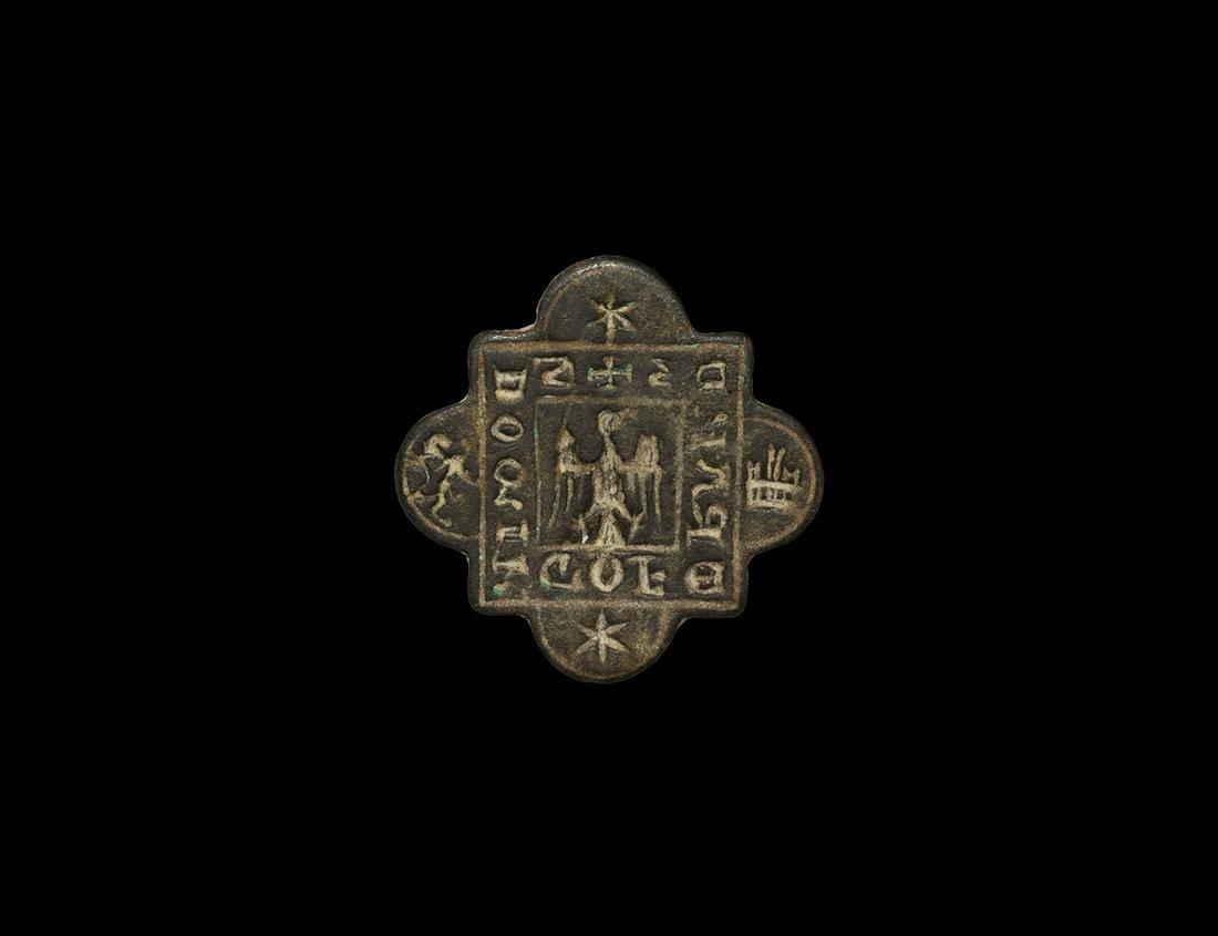 Medieval Seal Matrix with Spread Eagle