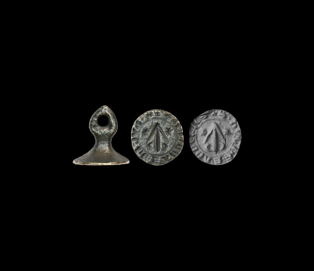 Medieval Seal Matrix with Arrowhead